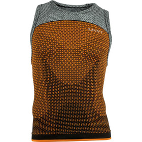 UYN Running Alpha OW Tri Top Singlet Heren, dragon fire/sleet grey